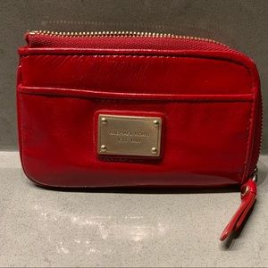 Michael Kors Fire Engine Red Coin Purse